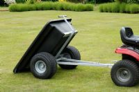 500kg Plastic Bodied Trailer Wide Profile Wheels